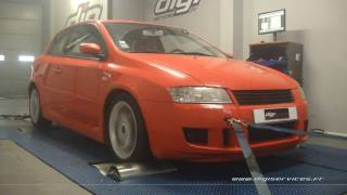Fiat Stilo 1.9 jtd 140cv Reprogrammation Moteur @ 170cv Digiservices Paris 77 Dyno