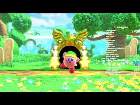 Kirby Star Allies Any% speedrun in 2:24:55