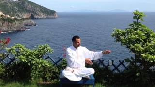 series of six exercises in sitting posture of health Qigong by Medo Atala Τσι Κονγκ (تشي كونغ )