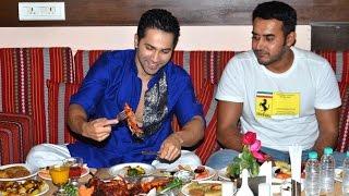 UNCUT Varun Dhawan Iftar Party At Persian Darbar Mumbai - Dishoom Promotions