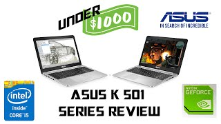 gAMING LAPTOP UNDER 1000 ASUS K501LB/K501ub/K501lx/K501ub