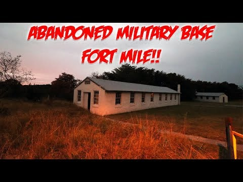 EXPLORING SECRET ABANDONED US MILITARY BASE *FORT MILES* | MOE SARGI