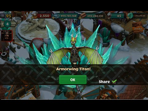 Dragons Rise Of Berk Armorwing Titan A Rare Dragon Youtube All content in this video is the property of dreamwork and universal studios! dragons rise of berk armorwing titan a rare dragon