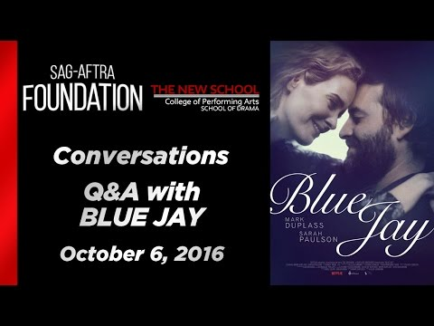Conversations with Sarah Paulson, Mark Duplass, and Alex Lehmann of BLUE JAY