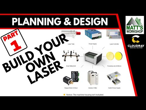 01- Build Your Own Co2 LASER Cutting & Engraving Machine - Introduction, Planning & Design.