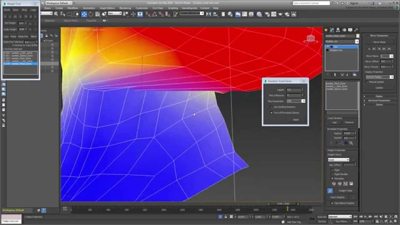 3ds Max Animation Techniques - Voxel Solver With The Skin Modifier