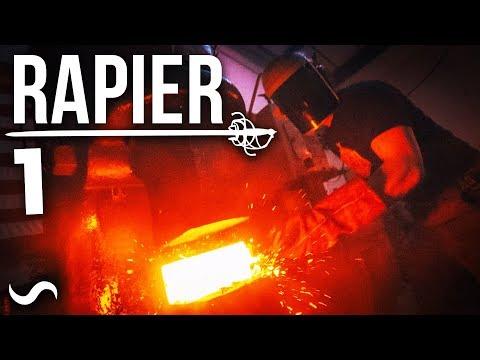 MAKING A BASKET HILT RAPIER SWORD!!! PART 1