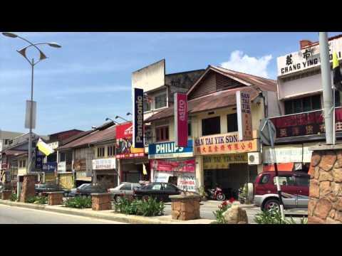 Town of Lenggong, Malaysia