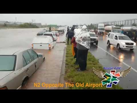 Heavy Rain and Floods in Durban, KwaZulu-Natal 10 October 2017