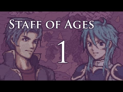 """Part 1: Let's Play Fire Emblem Staff of Ages, Patch 1.6.1, Chapter 1-1 - """"I'm a Green Unit"""""""