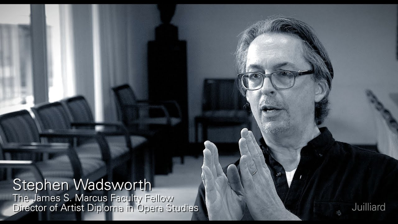 Juilliard Snapshot: Stephen Wadsworth