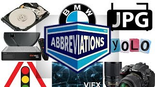 20 Abbreviations you Use Regularly but Don