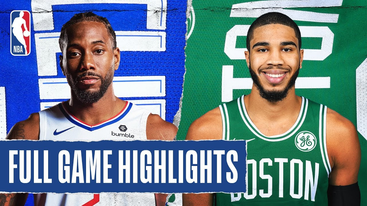 CLIPPERS at CELTICS | FULL GAME HIGHLIGHTS | February 13, 2020