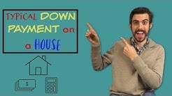 Typical Down Payment on a House