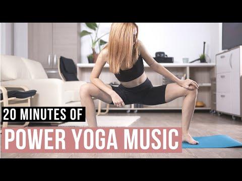 Music for Power Yoga practice. 20 min Yoga music Power flow.