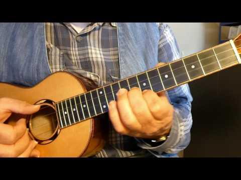 ALL THROUGH THE NIGHT - ukulele arrangement
