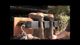 Remove Your Duck Hunting Waders With The Stay Clean Boot Puller And Boot Hanger