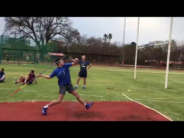 #VSA2020 | Ulrich van Tonder | Boys | u15 | Javelin | 60.10m