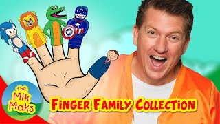 Finger Family Collection | 9 Finger Family Songs | Nursery Rhymes | The Mik Maks