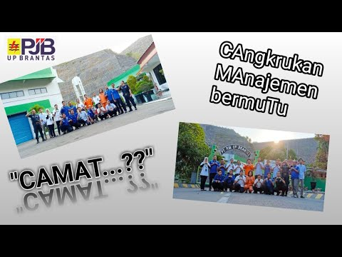 Acara Kunjungan Manajemen PT. PJB UP Brantas Ke PLTA Wonorejo Dalam Rangka Program Camat