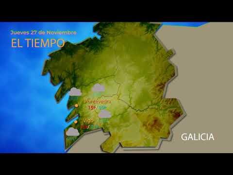 Previsión meteorológica Ourense 28 noviembre 2019