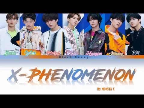 MONSTA X (몬스타엑스) - 'X-Phenomenon' (Color Coded Lyrics Eng/Rom/Kan/歌詞)
