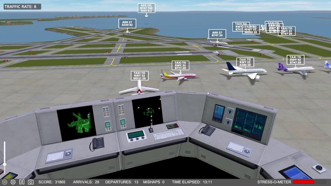 seaport airport traffic simulator - 1280×720