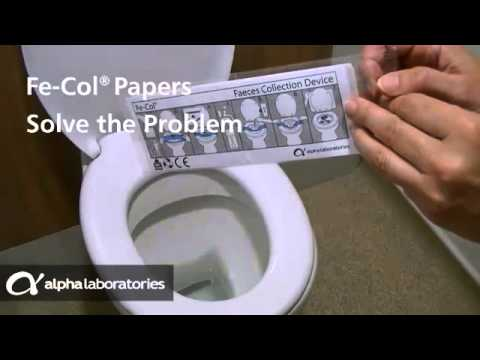 Faecal Sample Collection Made Easy With Fe Col 174 Youtube