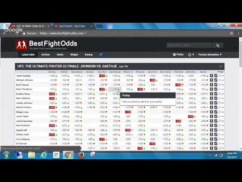 How to Make Money Betting on UFC 213 and TUF 25 Finale