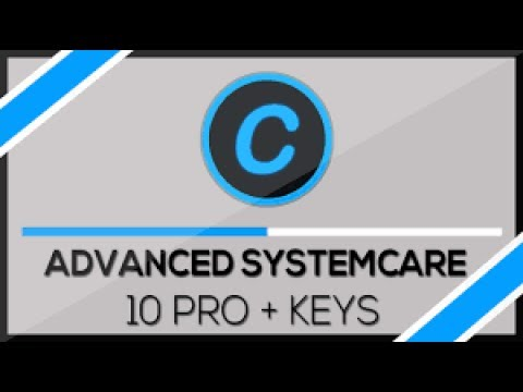 Advanced SystemCare 10.4 PRO Serial Keys 2018