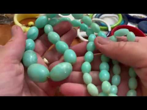 Vintage jewelry bag unbagging # 53