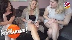 Schöne Beine ohne Rasierschaum: Welcher Lifehack klappt? | Endlich Feierabend! | SAT.1
