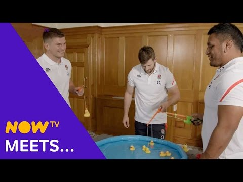 How England beat Australia. The secret to rugby success is duck fishing!