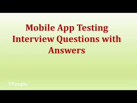 Mobile App Testing Interview Questions With Answers