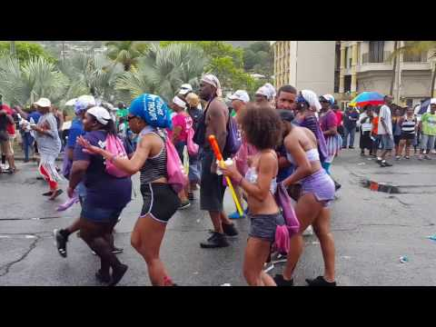 St.Thomas Carnival 2016 ( J'ouvert Morning)