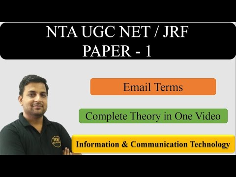ICT-Information & Communication Technology Paper 1 UGC NET JRF 2019 | Complete Course for NTA UGC NET