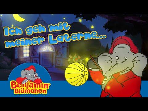 Benjamin Blümchen - Ich geh mit meiner Laterne LIEDER FÜR KINDER mit TEXT zum Mitsingen