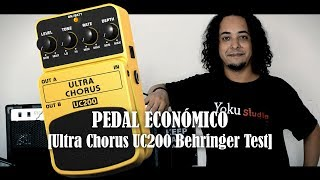 ¡PEDAL ECONÓMICO! (Ultra Chorus UC200 Behringer Test)
