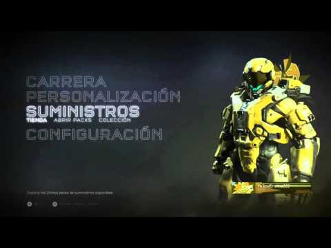 Pack opening - mi reacción 😑  | Halo 5: Guardians