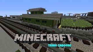 minecraft frieght train caboose
