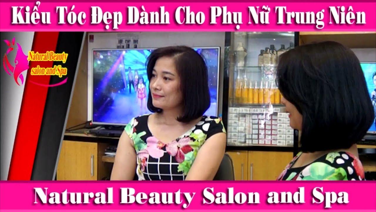 Kiểu Tóc Ngắn Đẹp Dành Cho Phụ Nữ Tuổi Trung Niên Salon Tóc Đức Hải