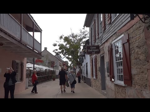 Walking Tour of Historic St  Augustine Florida
