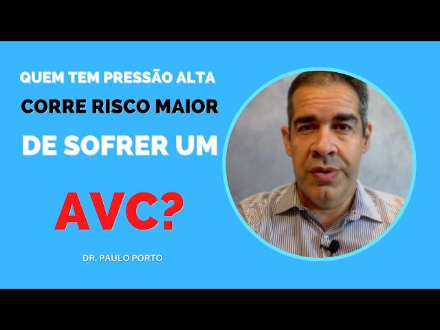 Quem tem PRESSÃO ALTA corre RISCO MAIOR DE SOFRER um AVC?#PRESSÃOALTA #AVC #derrame