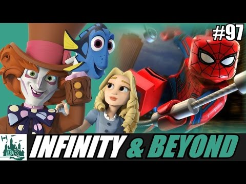 Infinity & Beyond #97 - Alice Through The Looking Glass + Finding Dory