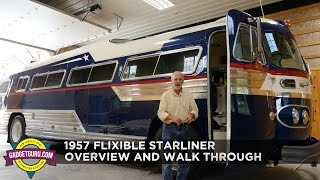 1957 Flxible Starliner - Restored Vintage Retro Bus Walk Through