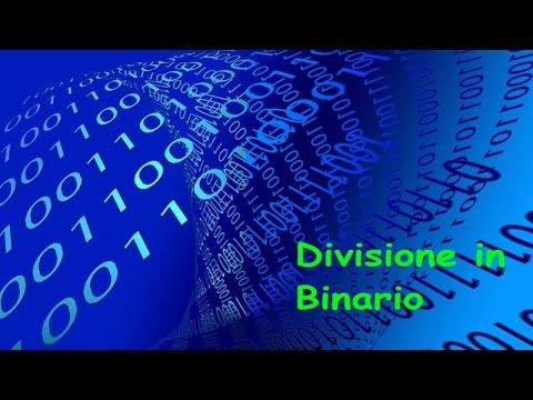 Divisione di due numeri binari