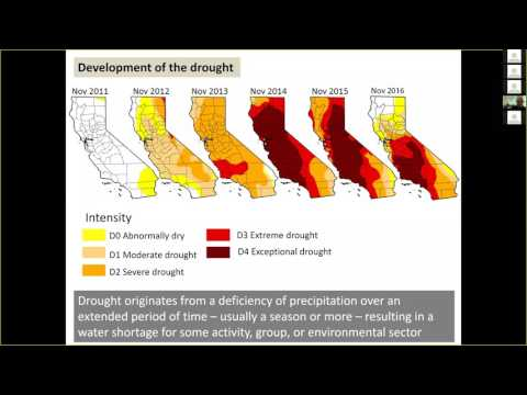 CZO Webinar: Drought resilience and water security