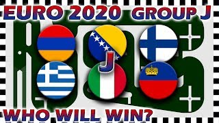 Euro 2020 Qualifiers Marble Race - Euro Group J