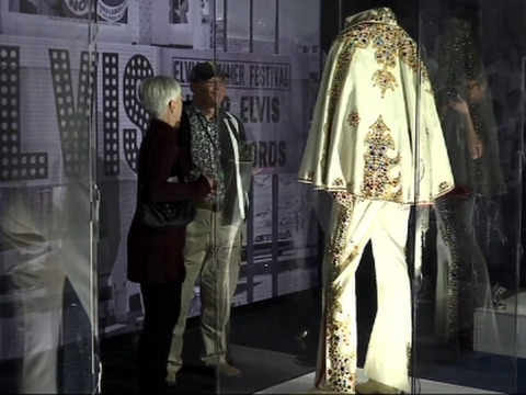 'The King' on Display at Graceland