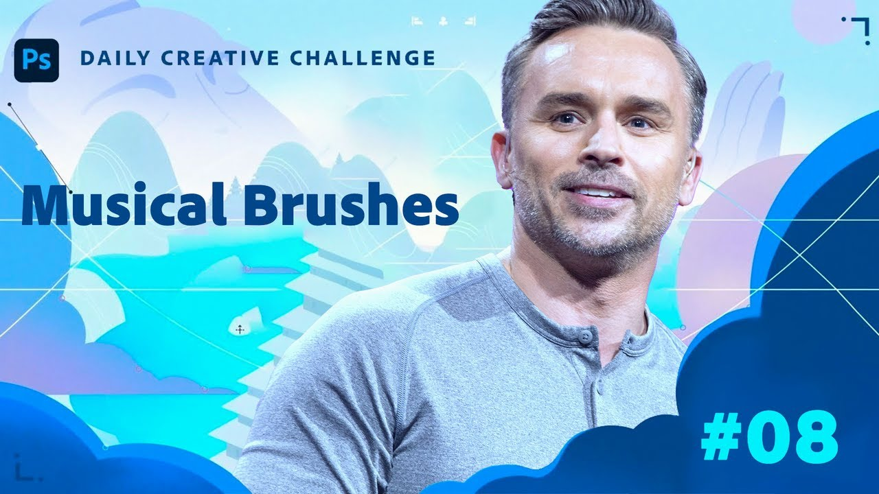 Creative Encore: Photoshop Daily Creative Challenge - Musical Brushes